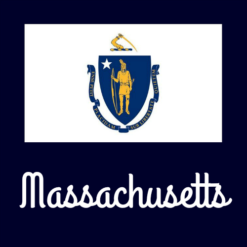 massachusetts state flag coloring page - state flag coloring pages by usa facts for kids