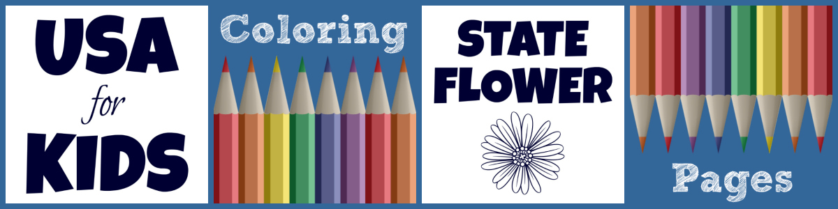 Captivating State Flower Coloring Pages