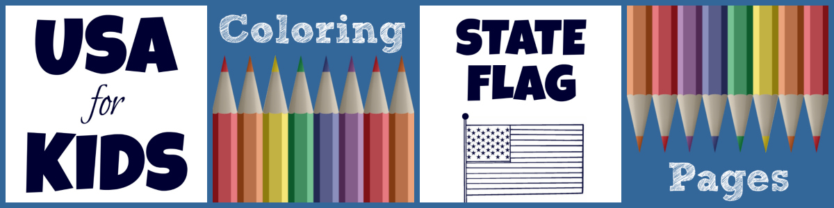 State Flag Coloring Pages By Usa Facts For Kids