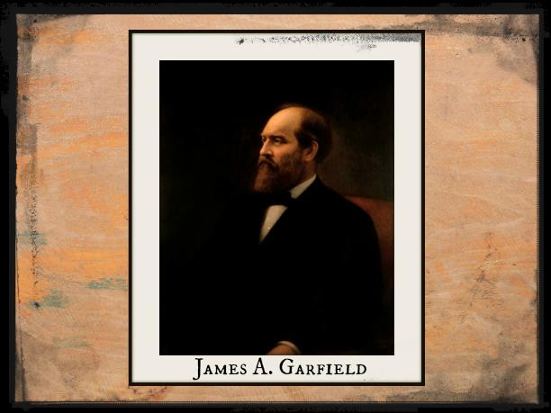 President James A Garfield