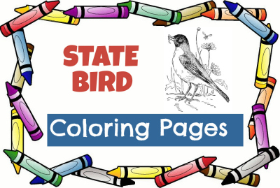 State Bird Coloring Pages