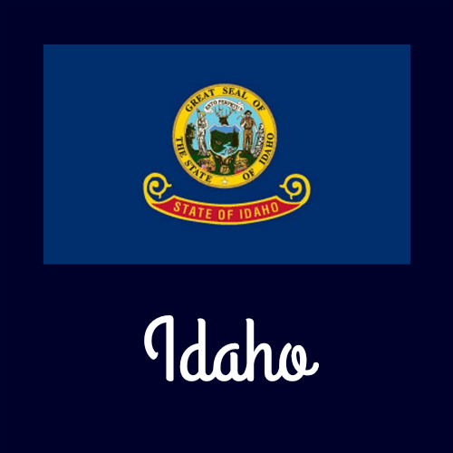 idaho state flag coloring page - state flag coloring pages by usa facts for kids