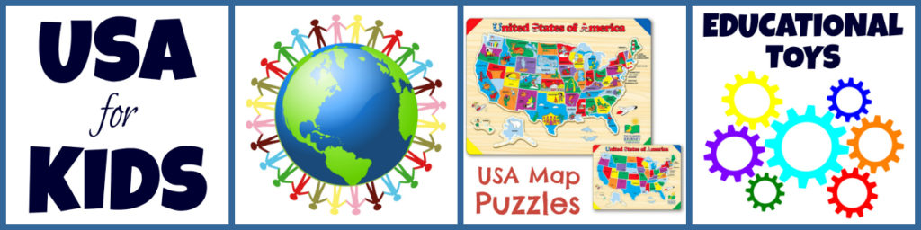 Best USA Map Puzzles