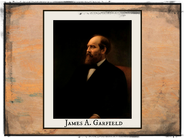 President James A Garfield